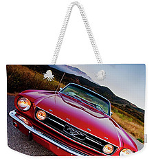 Mustang Convertible Weekender Tote Bag
