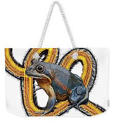 N Is For Northern Banjo Frog Weekender Tote Bag