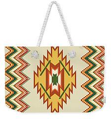 Native American Rug Weekender Tote Bag