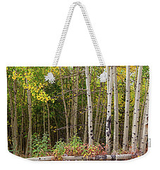 Weekender Tote Bag featuring the photograph Nature Fallen by James BO Insogna