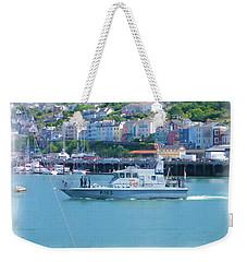 Naval Vessel Weekender Tote Bag