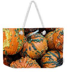 Nestled - Autumn Pumpkins Weekender Tote Bag