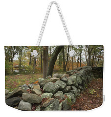 New England Stone Wall 1 Weekender Tote Bag
