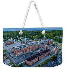 Weekender Tote Bag featuring the photograph New Life For An Old Mill by Michael Hughes