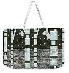 Night Birches Weekender Tote Bag