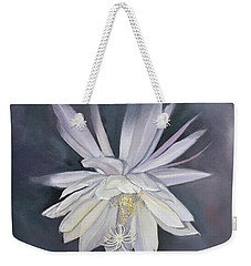 Night Blooming Cereus Weekender Tote Bag