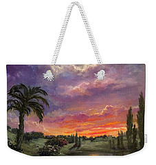 Night By Light Of Day Weekender Tote Bag