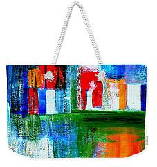 Night In The City N Y C Weekender Tote Bag