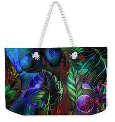 Weekender Tote Bag featuring the photograph Night Moves by Edmund Nagele