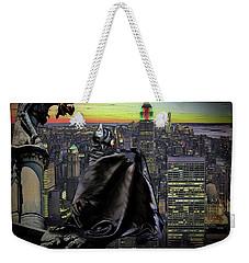 Night Of The Bat Man Weekender Tote Bag