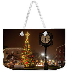 Night On The Square Weekender Tote Bag