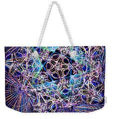 Night Star Weekender Tote Bag