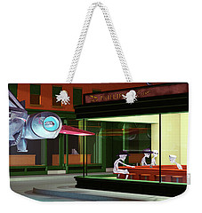Nighthawks Invasion Weekender Tote Bag