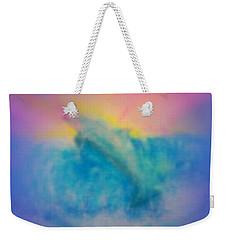 Weekender Tote Bag featuring the mixed media No Limits by Sabine ShintaraRose