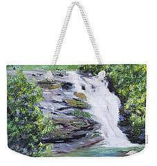 North Carolina Waterfall Weekender Tote Bag