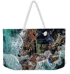 North Curl Curl Headland And Pool Weekender Tote Bag