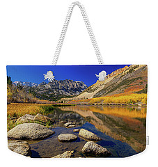 Weekender Tote Bag featuring the photograph North Lake by Tassanee Angiolillo
