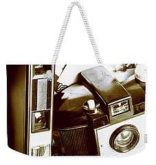 Nostalgic Travels Weekender Tote Bag