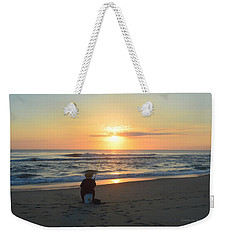 Weekender Tote Bag featuring the photograph November 3, 2018 Fisherman by Barbara Ann Bell