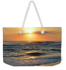 Weekender Tote Bag featuring the photograph November 3, 2018 Sunrise by Barbara Ann Bell