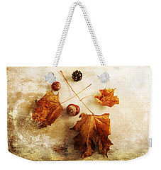 Weekender Tote Bag featuring the photograph November Mood by Randi Grace Nilsberg