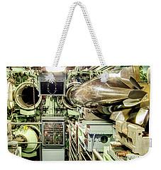 Nuclear Submarine Torpedo Room Weekender Tote Bag