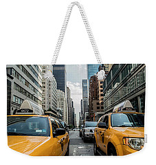 Ny Taxis Weekender Tote Bag