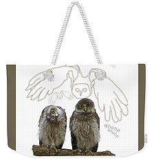 O Is For Owl Weekender Tote Bag