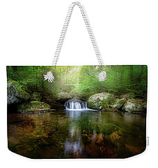 Weekender Tote Bag featuring the photograph Oasis by Bill Wakeley