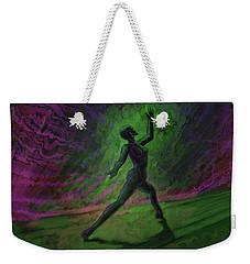 Obscured Dance Weekender Tote Bag