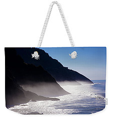 Weekender Tote Bag featuring the photograph Ocean Beach Siuslaw National Forest Oregon by Rospotte Photography