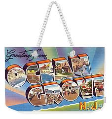 Ocean Grove Greetings Weekender Tote Bag