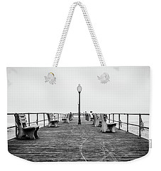 Weekender Tote Bag featuring the photograph Ocean Grove Pier 1 by Steve Stanger