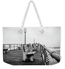 Weekender Tote Bag featuring the photograph Ocean Grove Pier 2 by Steve Stanger