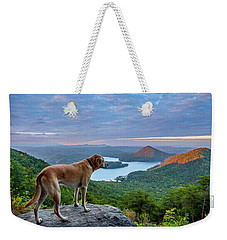 Weekender Tote Bag featuring the photograph Ocoee Sunrise by Matthew Irvin