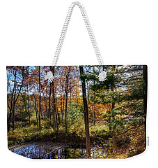 Weekender Tote Bag featuring the photograph October Late Afternoon by Kendall McKernon