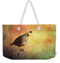 Ode To The Sunset Weekender Tote Bag
