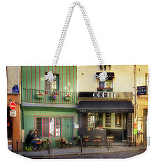Weekender Tote Bag featuring the photograph Odette Patisserie by Craig J Satterlee