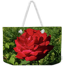 Oh The Blood Red Rose Weekender Tote Bag