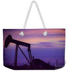 Oil Sunset Weekender Tote Bag