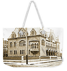 Old Customs House And Post Office, Evansville, Indiana, 1915 Weekender Tote Bag