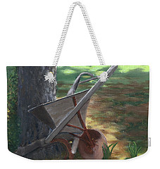 Old Farm Seeder, Louisiana Weekender Tote Bag