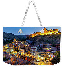 Weekender Tote Bag featuring the photograph Old Tbilisi by Fabrizio Troiani