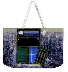 Weekender Tote Bag featuring the photograph Old Window 2 by Stuart Manning