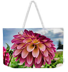 Weekender Tote Bag featuring the photograph Ominous Sky by Brian Eberly