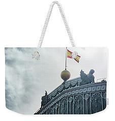 On Top Of The Puerta De Atocha Railway Station Weekender Tote Bag
