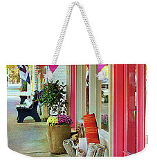Open For Business Weekender Tote Bag