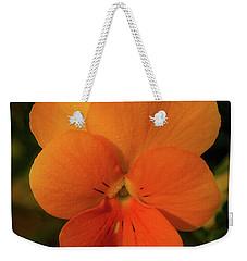 Orange Cream Weekender Tote Bag