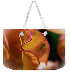 Orange Croton Weekender Tote Bag