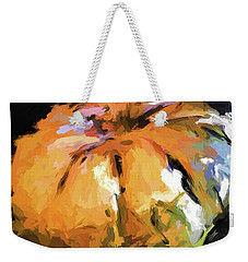 Orange Pumpkin Weekender Tote Bag